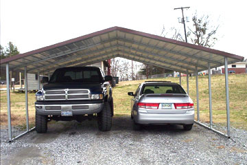 Build, price and buy metal carports in Dunn NC