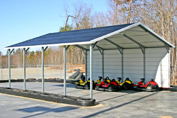 Customize, Price, and Purchase your metal carports in Charleston, SC