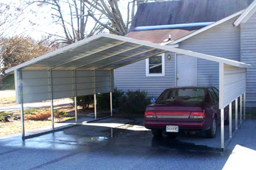 Build, price, and buy metal carports in Wilson, NC