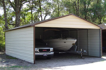 Build, price, and purchase metal carports in Myrtle Beach, SC