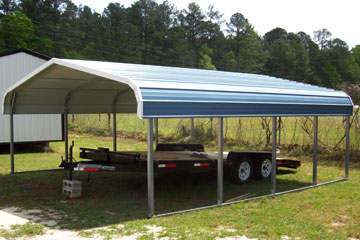 Build, price and buy metal carports i Bluffton, SC