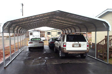 Build, price and purchase metal carports in Camden, SC