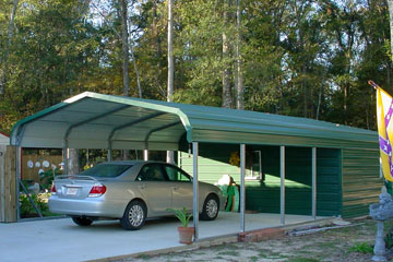 Build, price, and purchase metal carports in Columbia SC