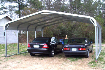 Build, price, and purchase metal carports in Gastonia, NC