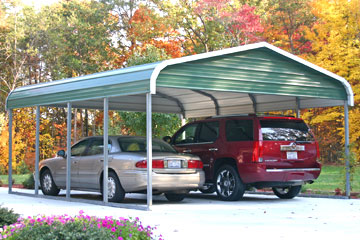 Build, price, and purchase metal carports in Greenville, SC