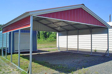 Begin building and pricing metal carports in Raleigh, NC