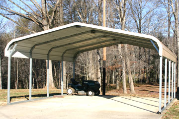 Standard Double carport for two vehicles