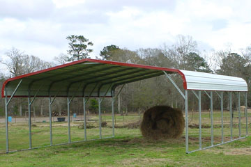 Metal carports delivered and installed directly in Dale City VA