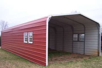 Build, price, and purchase metal carports in Eden, NC